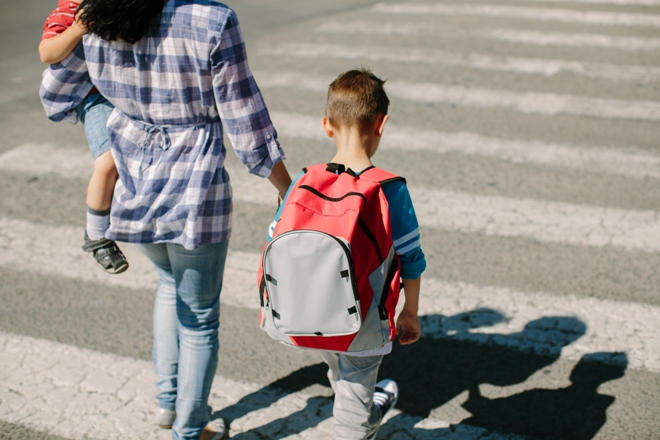 Safety Tips for Taking Kids to School
